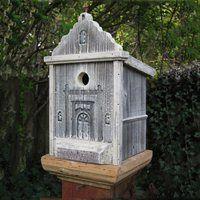 Heart & Eagle 1403 San Luis Rey Mission Birdhouse