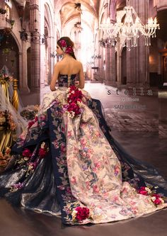 Stella de Libero Stained Glass Collection 2015 - Luxe Fashion New Trends Mode Baroque, Bridal Gowns, Wedding Gowns, Fairytale Gown, Fashion Vestidos, Evening Dresses, Prom Dresses, Fantasy Dress, The Dress