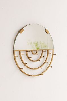 Aimee Jewelry Storage Hanging Mirror | Urban Outfitters