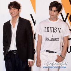 "Gong Yoo vs Park Hyung-sik at ""Volez, Voguez, Voyagez"" @ HanCinema :: The Korean Movie and Drama Database"