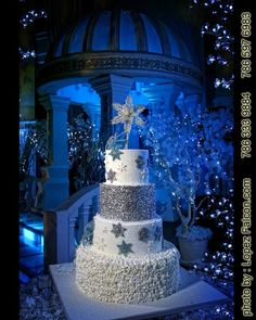 Sweet 15!! Winter wonderland cake | Nana´s Cakes ...