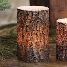 Tree Bark LED Rustic Candle - Large - Lodge Decor Black F... https://www.amazon.com/dp/B00KDENZ6O/ref=cm_sw_r_pi_dp_x_iCnSyb43AQBEZ