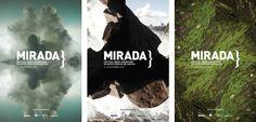 Mirada - Fetsival Ibero-americano de artes cênicas    Posters    Design: Naíma Almeida  Fotografia: Marcos Bruvic