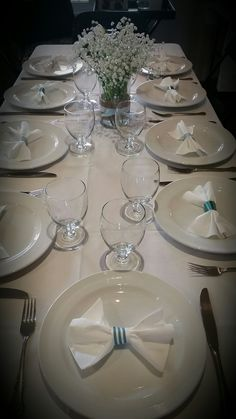 Table Settings, Groom, Shower, Rain Shower Heads, Table Top Decorations, Grooms, Place Settings, Dinner Table Settings, Setting Table