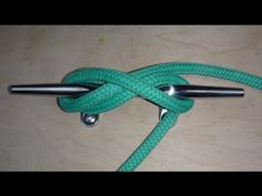 A Perfect Cleat Hitch - YouTube