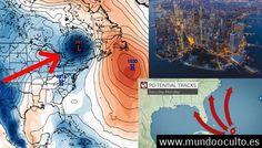 Modelos de computadoras muestran al huracán IRMA destruyendo la ciudad de Nueva York el 10 de septiembre.