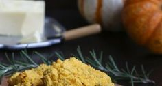 Low carb Pumpkin Rosemary Biscuits
