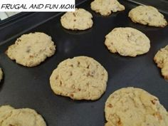 Pecan, Caramel, and Chocolate Chip Cookie Recipe! These are So Sweet and Delicious! » Frugal and Fun Mom/ Mom Blog, Reviews, Giveaways, Family Fun