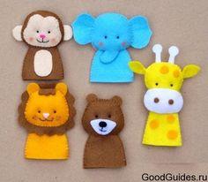 пальчиковые куклы своими руками - Поиск в Google