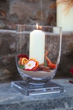 Fruit Candle Vase Grady Kitchen Decor