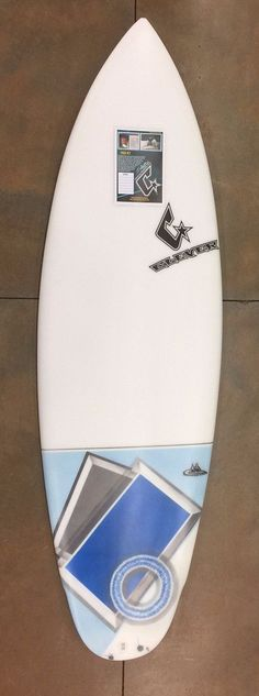 Clever 5'9 Fish Jet Blue Tail Air Brush Surfboard