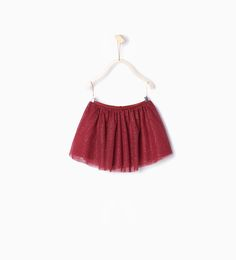Shiny tulle skirt-Skirts and Shorts-Baby girl | 3 months - 3 years-KIDS-SALE | ZARA United States