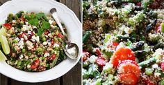Forleden lavede jeg denne fine, fine quinoasalat fyldt med smag og sommerfornemmelser. Det er altid skønt når en salat er fyldt med kont...