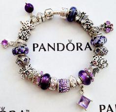 Authentic Pandora Charm Bracelet with Finest S/P by CharmingChelle