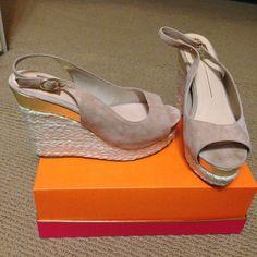 Dolce vita platforms Light grey/suede Dolce Vita Shoes