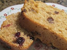 Oat Bran Cranberry Bread by vanderbiltwife, via Flickr