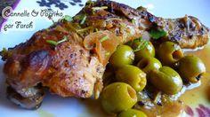 Poulet aux olives & citron confit (Maroc)