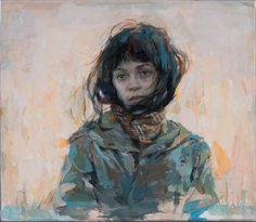 """Julio Reyes, """"Lost,"""" 2015, acrylic and encaustic on paper, 9.5 x 10.5 in. Arcadia Contemporary"""