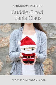 Mesmerizing Crochet an Amigurumi Rabbit Ideas. Lovely Crochet an Amigurumi Rabbit Ideas. Crochet Santa, Crochet Amigurumi, Christmas Crochet Patterns, Holiday Crochet, Cute Crochet, Amigurumi Patterns, Crochet Toys, Half Double Crochet, Single Crochet