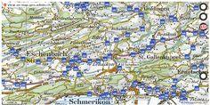 Eschenbach (SG) Wanderwege Karte trail http://ift.tt/2i6UeMA #geodaten #Geomatics