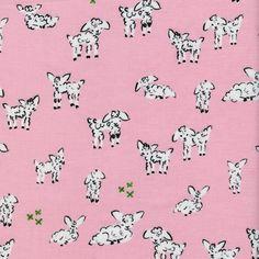 Little Lambs - Pink