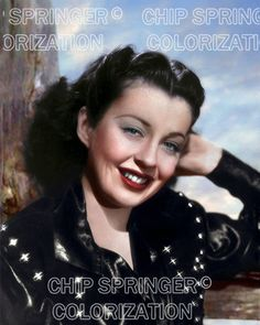 GAIL RUSSELL a Cowgirl Smiling #1 | SEXY 8x10 COLOR PHOTO by Chip Springer. Featured Ebay Listing. Please visit my Ebay Store, Legends of the Silver Screen, at http://legendsofthesilverscreen.com to see the current listings of your favorite Stars now in glorious color! Thanks for looking and check out my Youtube videos at https://www.youtube.com/channel/UCyX926rA5x4seARq5WC8_0w