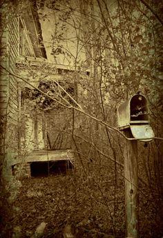 Old Farm House & Mail Box