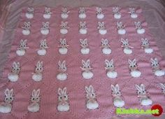 Sweet Little Bunny Afghan~Site in Japanese....I think. There is a graph for the pattern.
