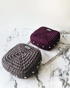 crochet handbags Square crochet clutch/ bag - Round crochet bag available in different colours It can be used for various ocassions It can hold phone, keys, cards, etc It can be customized to your preference It is available in different colours Image may Crochet Diy, Bag Crochet, Crochet Shell Stitch, Crochet Purses, Crochet Clutch Bags, Crochet Purse Patterns, Crochet Handbags, Mobiles En Crochet, Crochet Mobile