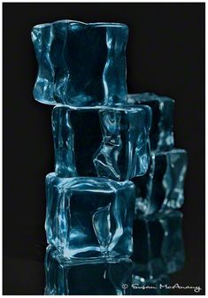 High Rise Ice Cubes Still Life Photography Modern Art от McAnany