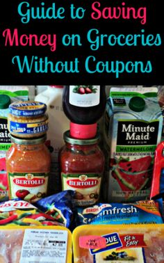 How to save money on groceries without coupons. Tons of practical tips. Pin now, read later. save money on food frugal meal ideas, meal planning tips and budget recipes! Save Money On Groceries, Ways To Save Money, Money Tips, Money Saving Tips, Save Money On Food, Groceries Budget, Managing Money, Cost Saving, Big Money