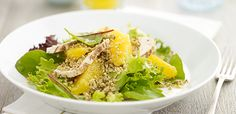Chicken and Orange Cous Cous Salad
