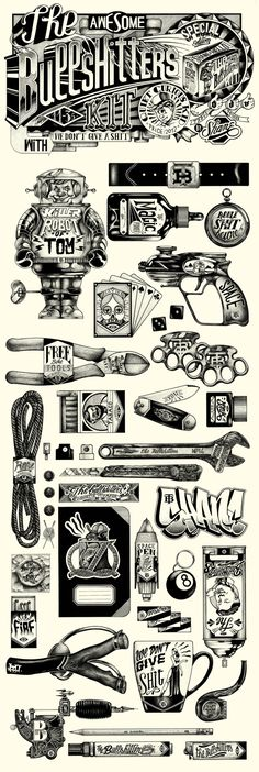 Clippingpaper - Illustration by Hello Shane – THE BULLSHITTERS DIARY