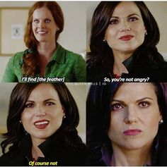 "That Regina moment that many people have said to be very relatable. Yes, it is! 6x01 ""The Savior"""