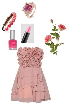 """""""Untitled #49"""" by duckdynasty ❤ liked on Polyvore featuring Forever 21, OKA, Rare Opulence, NYX and Viva La Diva"""