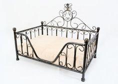 Black Metal Mimi Bed Frame w/Cushion for Dog Cat Puppies Kittens Solris, http://www.amazon.com/dp/B005VILTVA/ref=cm_sw_r_pi_dp_OslMpb0ZGDCY7