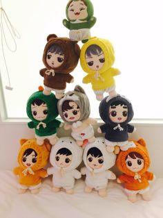 Pop Dolls, Cute Dolls, Baby Dolls, Army Room Decor, Exo Merch, Kawaii Doll, Kpop, 98, Plush Dolls