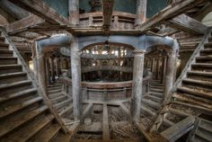 """Niki told BuzzFeed: """"The fascination for abandoned places started when I was a kid. There was an old abandoned house with a factory close to my town."""" 