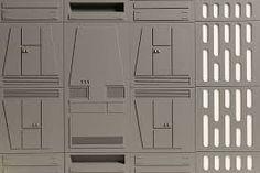 GTP Toys Space Walls Star Wars diorama - Star Wars Models - Ideas of Star Wars Models - Space Walls Star Wars diorama by GTP Toys Star Wars Crafts, Star Wars Decor, Gi Joe, Nave Star Wars, Spaceship Interior, Star Wars Spaceships, Star Wars Halloween, Star Wars Room, Star Wars Design