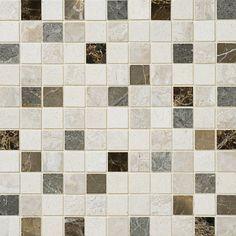 Nantes Honed 12x12 1x1 Marble Mosaics $14.84/pcs