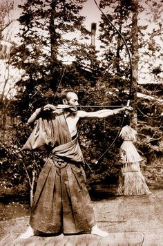 THE OLD ARCHER ca.1870s-90s.. ..what a picture..