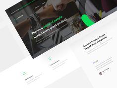 🖥   Netguru Services / Landing Page
