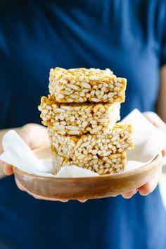 Naturally-Sweetened Crispy Rice Treats
