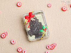 Árbol de navidad caja de regalo Sapin de Noël por ParisMiniatures