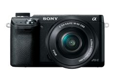 Front view of the NEX Alpha 6 | http://infinarium.com/reviews/camcorders/starter-guide-for-sony-nex-alpha-6-camera-owners/