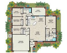 Affordable house plans 3 bedroom islip home plan 3 for Affordable garage plans