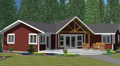 The Athabasca Classic - Prefabricated Home Plans | Winton Homes