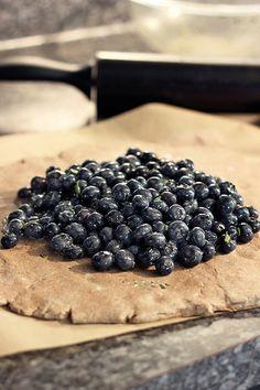 Blueberry Rosemary Multi-grain Galette