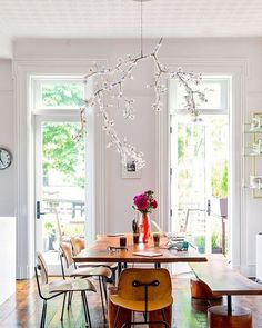 #dreamhome #chandelier #dinningroom #interiordesign #treebranch #unique #furniture by whimsicalchick