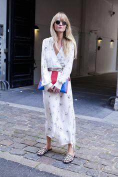 Уличная мода: Уличный стиль недели моды в Копенгагене сезона весна-лето 2017